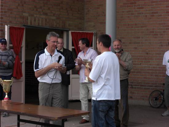 Equipe B finaliste de la coupe Lesecq le 3 juin 2007