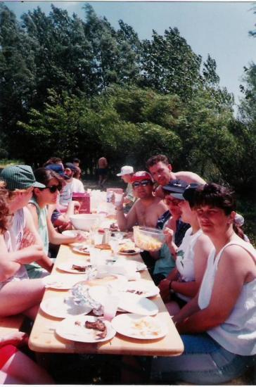 Pêche à la truite en 1992