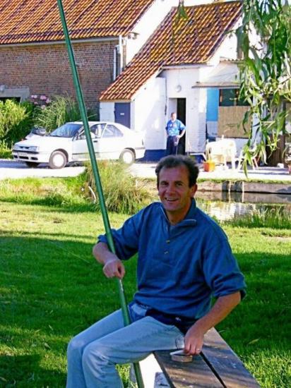 Pêche à la truite le 13 juin 2004