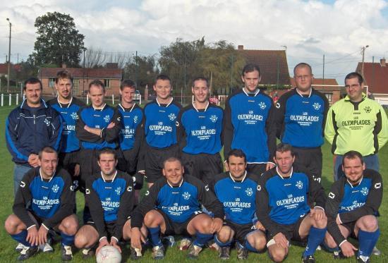 Equipe B lors d'1 match de championnat en 2006