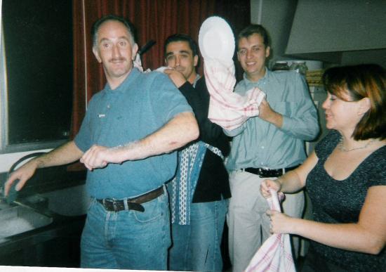 Soirée moules-frites en Octobre 1999