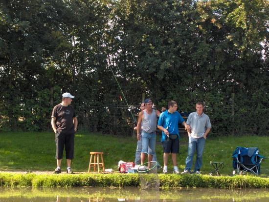 Pêche à la truite le 27 Aout 2006