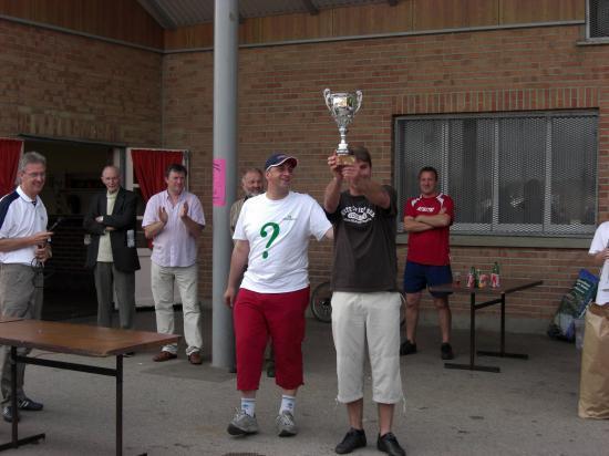 Equipe A vainqueur de la coupe Bruneele le 3 juin 2007